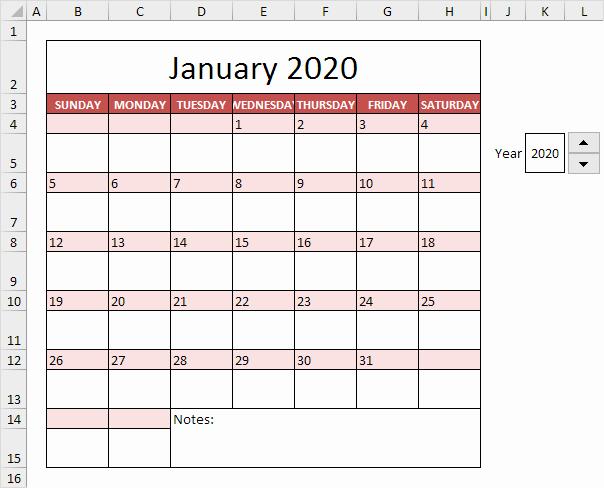 Three Month Calendar Template Excel Elegant Calendar Template In Excel Easy Excel Tutorial