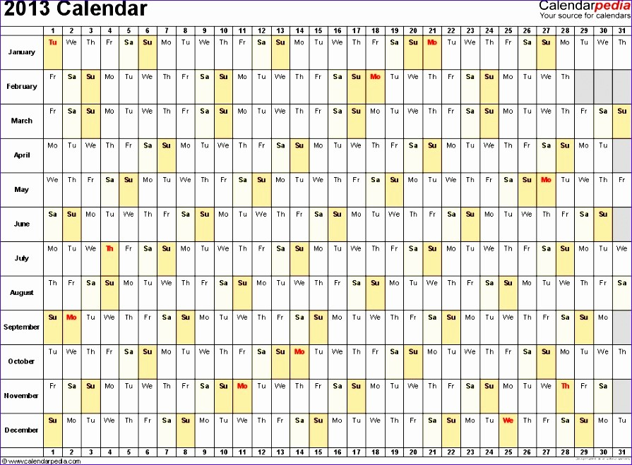 Three Month Calendar Template Excel New 6 3 Month Calendar Template Excel Exceltemplates
