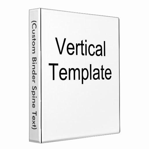 Three Ring Binder Spine Template Best Of Vertical Template 3 Ring Binders