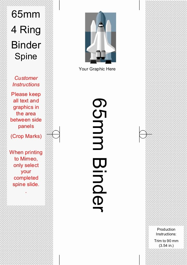 Three Ring Binder Spine Template Elegant Spine Templates for Your 4 Ring Binders