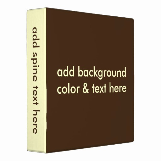 """Three Ring Binder Spine Template Unique 1 5"""" Three Ring Binders Easy Template"""