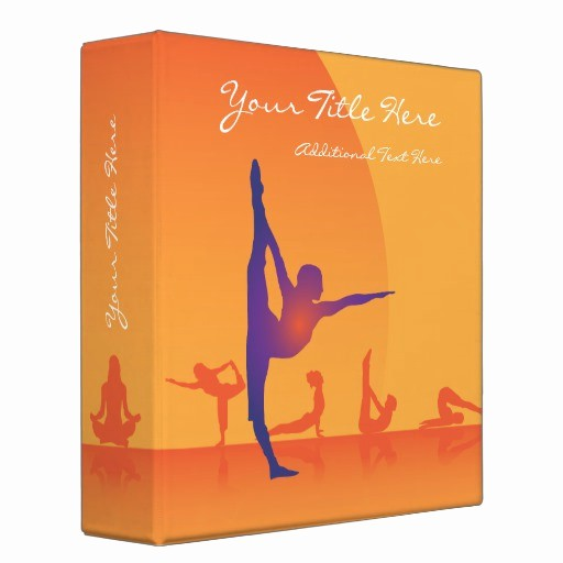 Three Ring Binder Spine Template Unique 3 Ring Binder Template Yoga