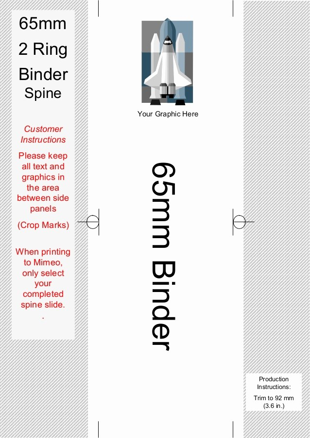 Three Ring Binder Spine Template Unique Spine Templates for 2 Ring Binders On Mimeo