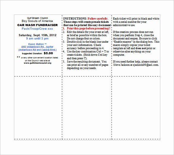 Ticket Template for Microsoft Word Elegant Ticket Templates – 99 Free Word Excel Pdf Psd Eps