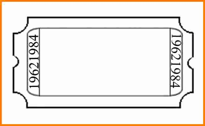 Ticket Templates 8 Per Page Best Of Printable Admission Ticket Template Sample with Blank