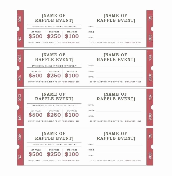 Ticket Templates 8 Per Page Inspirational Ticket Template Word Admit E Ticket Template Meal Ticket