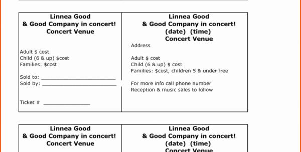 Ticket Templates 8 Per Page New Raffle Ticket Spreadsheet Printable Spreadshee Raffle