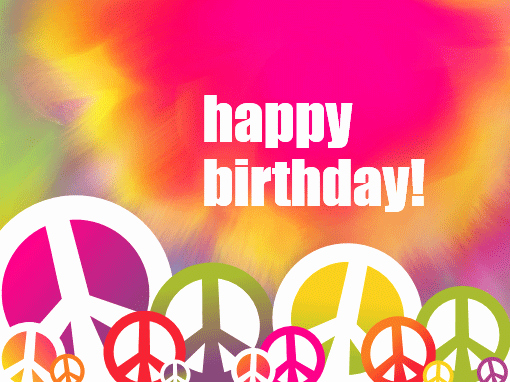 Tie Dye Happy Birthday Images Awesome Birthday Card Tie Dye