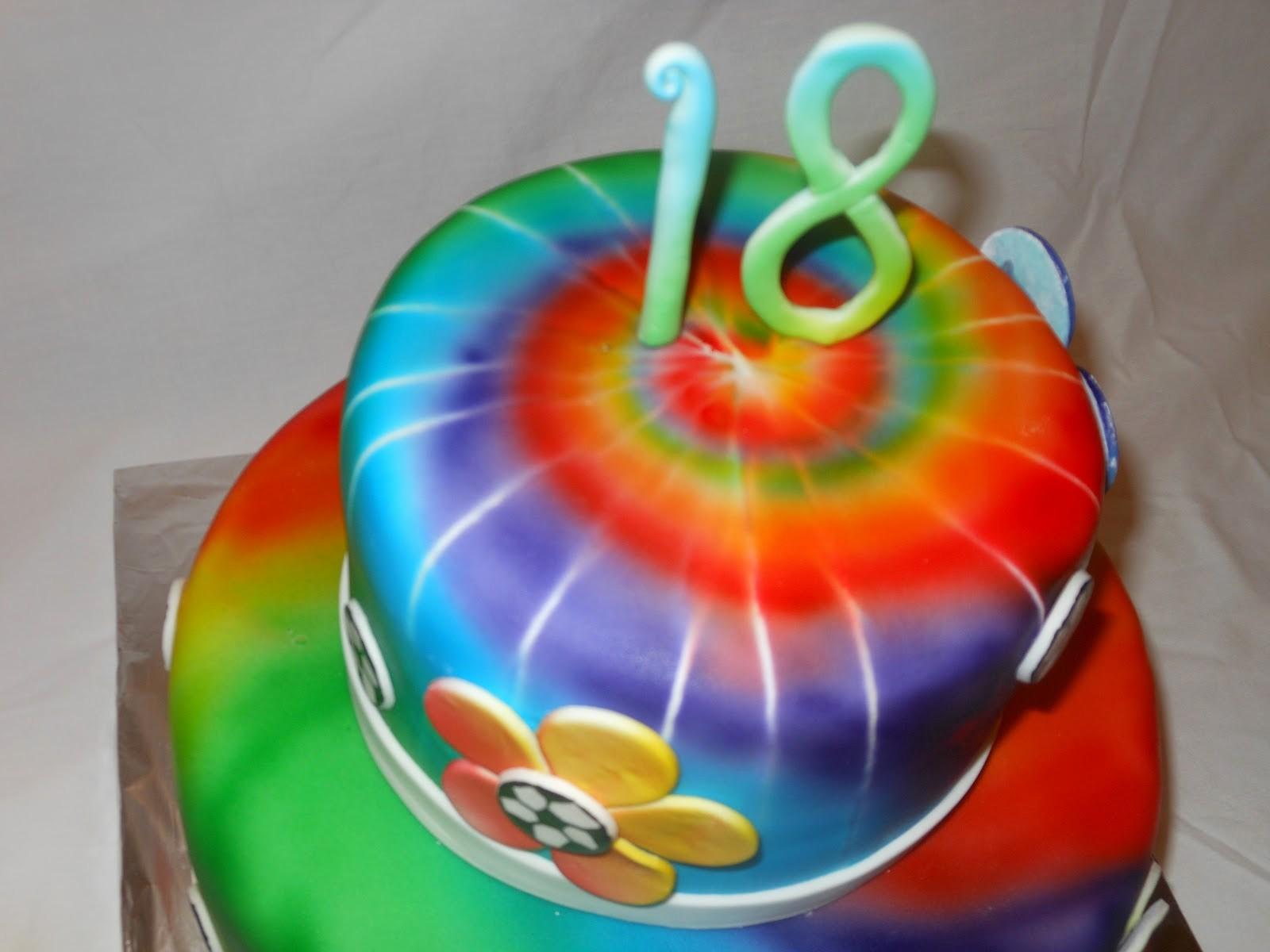 Tie Dye Happy Birthday Images Beautiful It S A Piece Of Cake Tie Dye soccer Birthday Cake