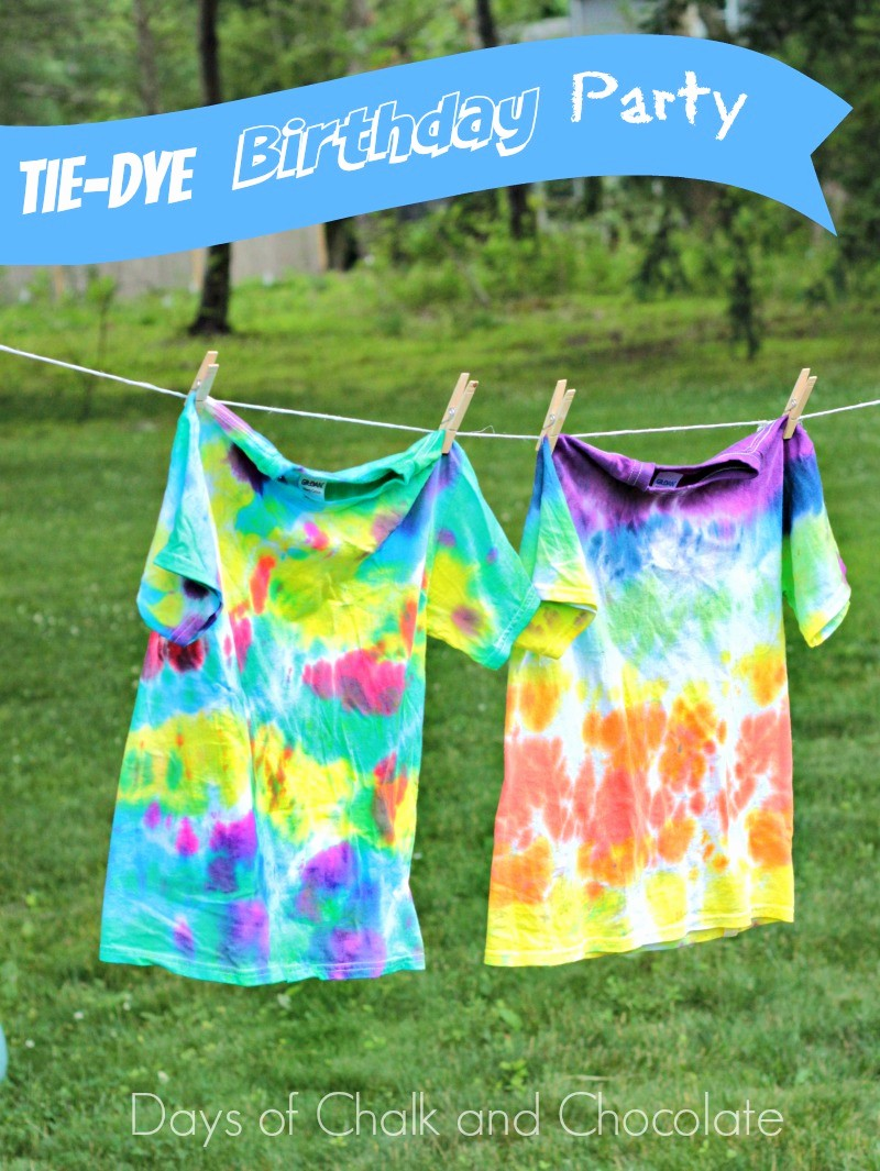 Tie Dye Happy Birthday Images Beautiful Tie Dye Your Summer Birthday Party