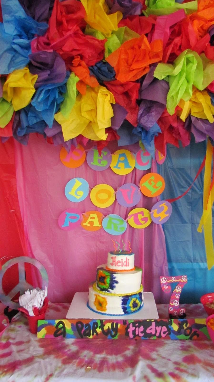 Tie Dye Happy Birthday Images Luxury the Colquett 5 Heidi S Tie Dye Party Happy 7th Birthday