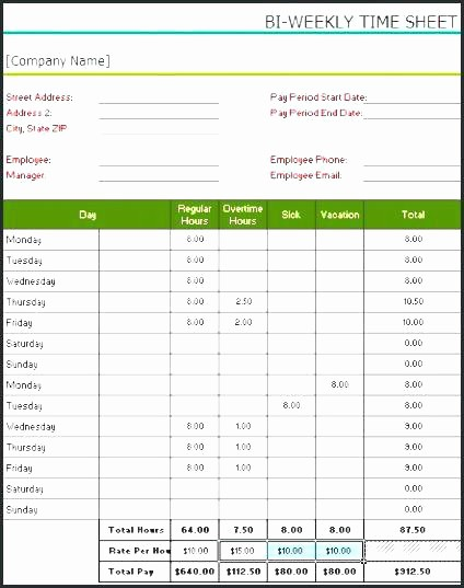 Time Card Calculator Bi Weekly Beautiful Lunch Break Schedule Template – Suidakrafo