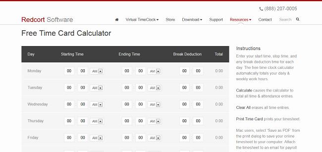 Time Card Calculator Bi Weekly Inspirational top 5 Timesheet Calculators to Sum Up Working Hours