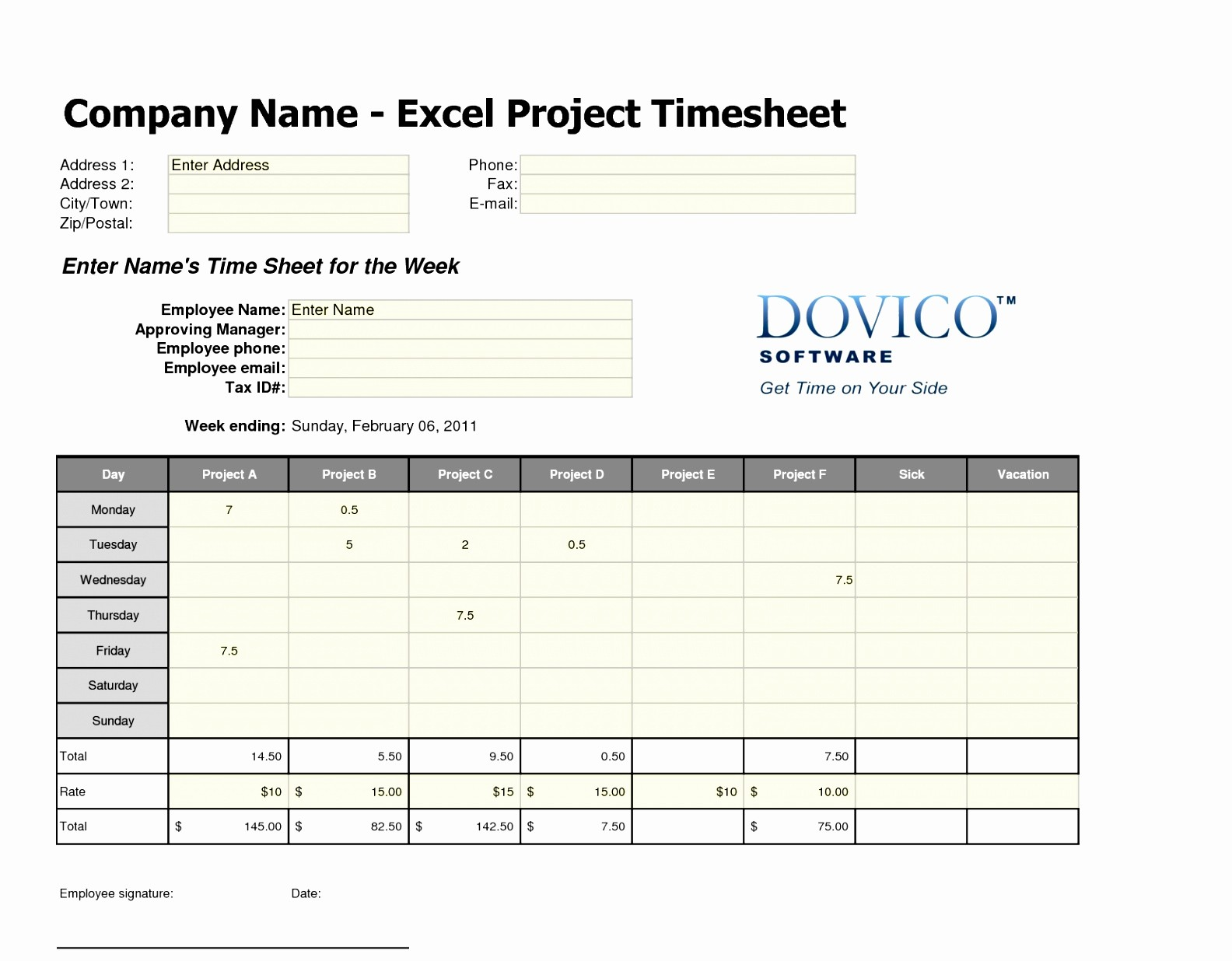 Time Card Template for Excel Lovely Time Card Template Free Worksheet Templates for Word Free