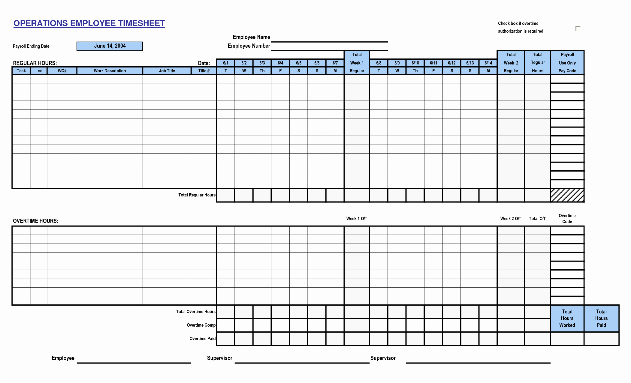 Time Card Template for Excel Luxury 6 Time Card Templates