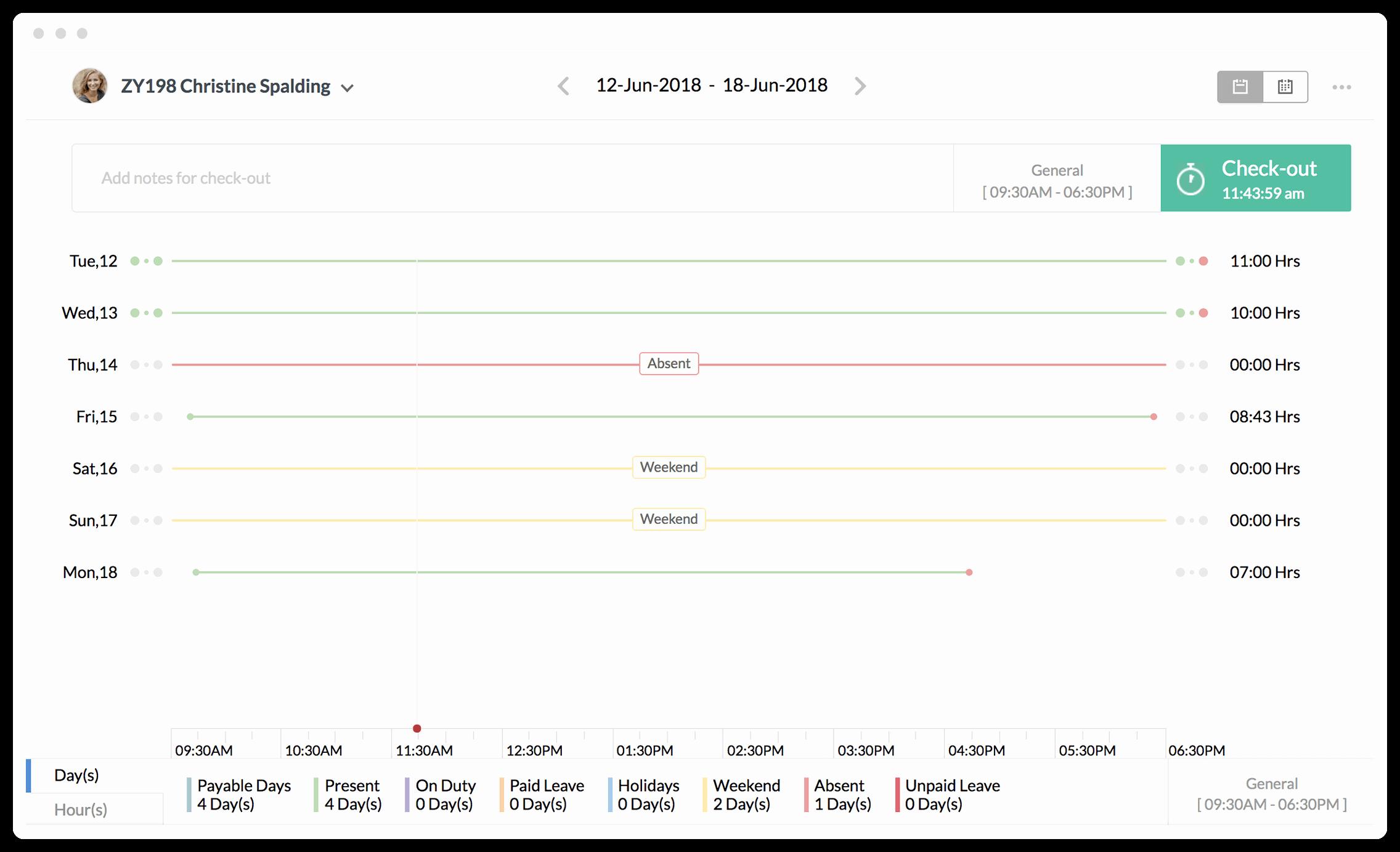 Time Clock Correction form Template Unique attendance Management System