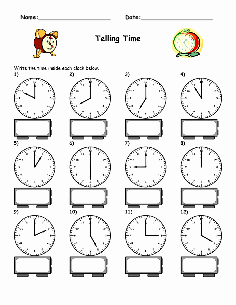 Time Clock Correction form Template Unique Blank Clock Worksheet to Print