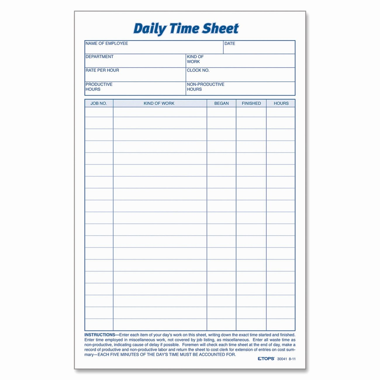 Time Log Sheet for Employees Beautiful Printable Pdf Timesheets for Employees
