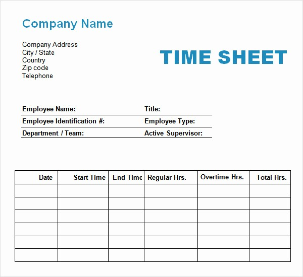 Time Log Sheet for Employees Lovely 11 Time Log Templates – Pdf Word