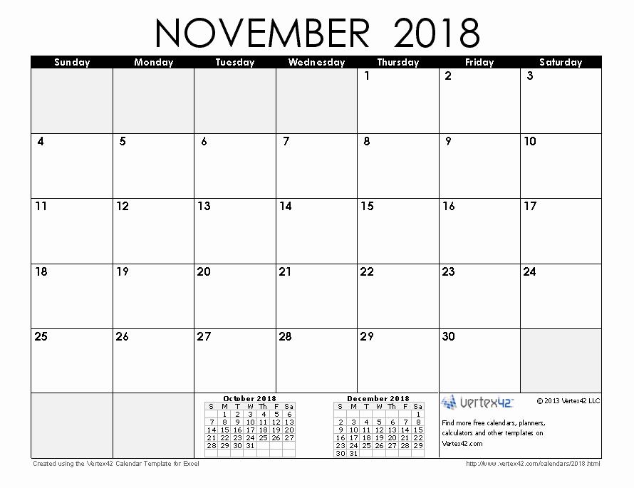 Time Off Calendar Template 2016 Elegant 2018 Calendar Templates and Pdfs