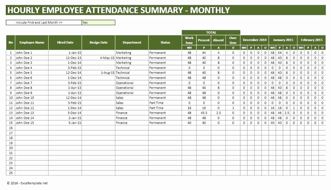 Time Tracking Excel Template Free Elegant Employee attendance Sheet Excel Free Download and Time