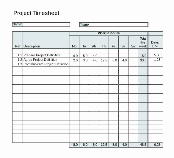 Timecard In Excel with formulas Fresh Project Management Timesheet Template Excel – Voipersracing