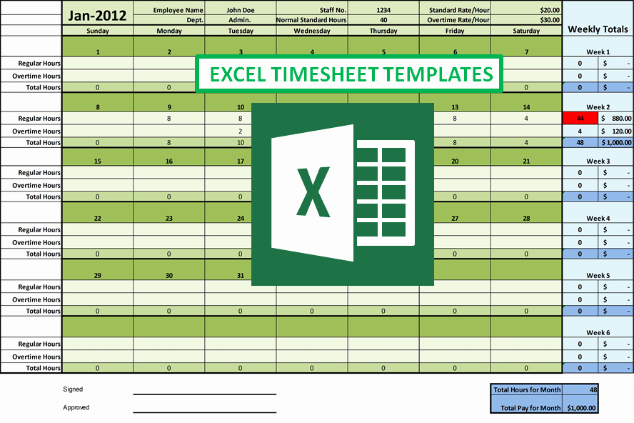 Timecard In Excel with formulas New How Excel Timesheet Simplifies Employee Hour Tracking Tasks