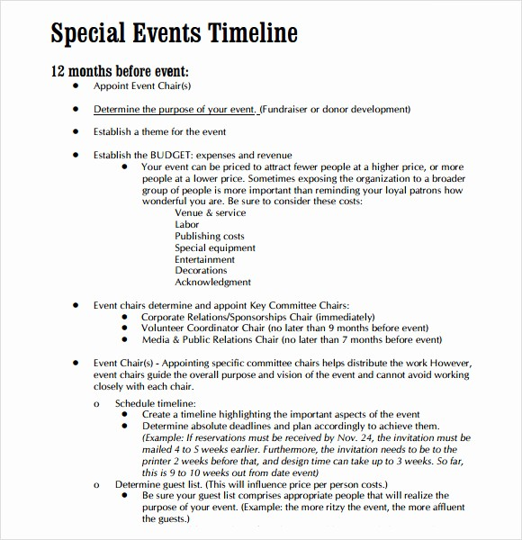 Timeline Of events Template Word Best Of 9 event Timeline Samples