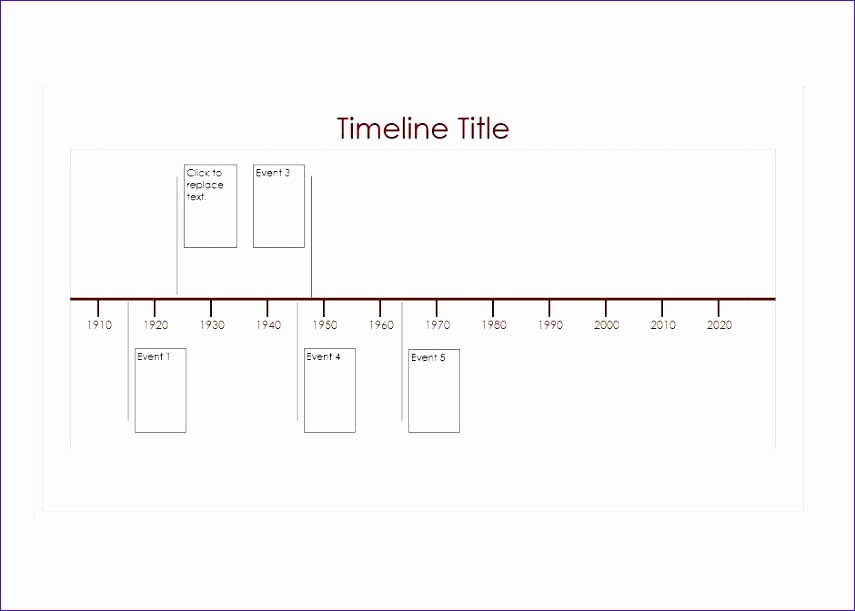 Timeline Of events Template Word Fresh 6 Excel Timeline Templates Exceltemplates Exceltemplates