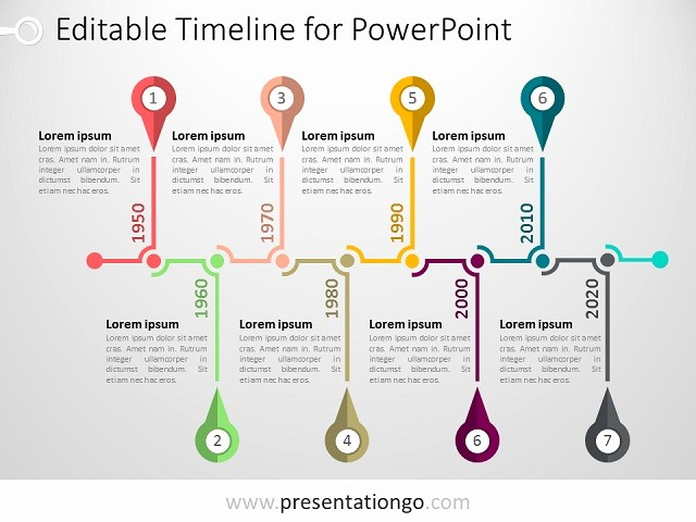 Timeline Of events Template Word Lovely Powerpoint Timeline Template Presentationgo