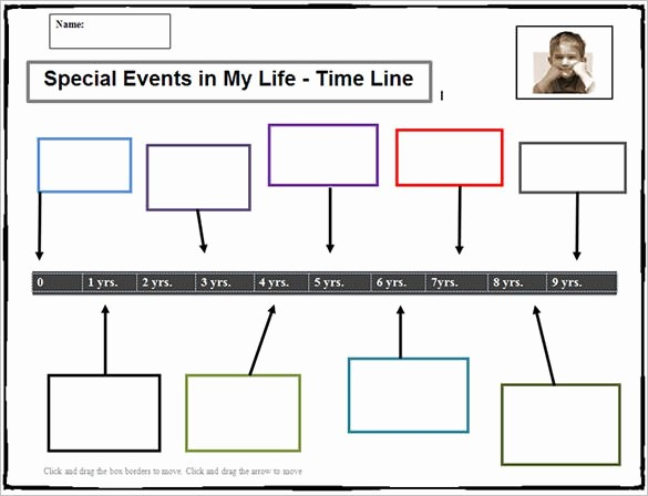 Timeline Of events Template Word Unique 6 Sample Timeline Templates for Students Doc Pdf