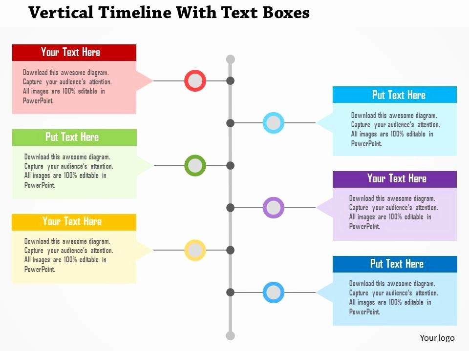 Timeline Templates for Microsoft Word Awesome Vertical Timeline Template
