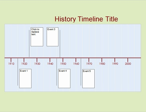 Timeline Templates for Microsoft Word Best Of History Timeline Template Free Invitation Template