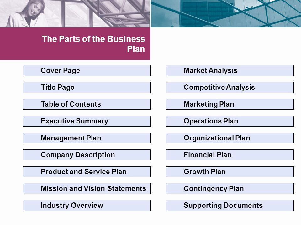 Title Page with Executive Summary Elegant Feasibility and Business Planning Ppt Video Online