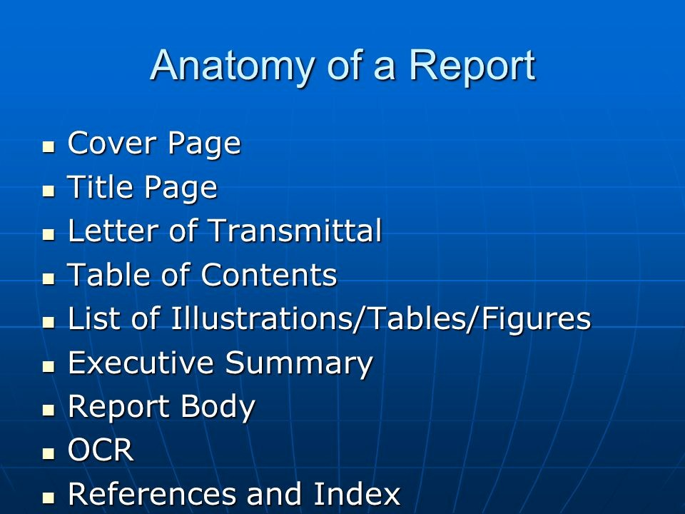 Title Page with Executive Summary Elegant Report Writing Mallika Nawal Ppt