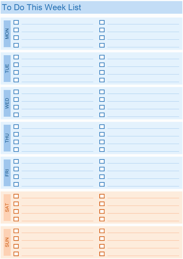 To Do List Excel Template Inspirational Daily to Do List Templates for Excel