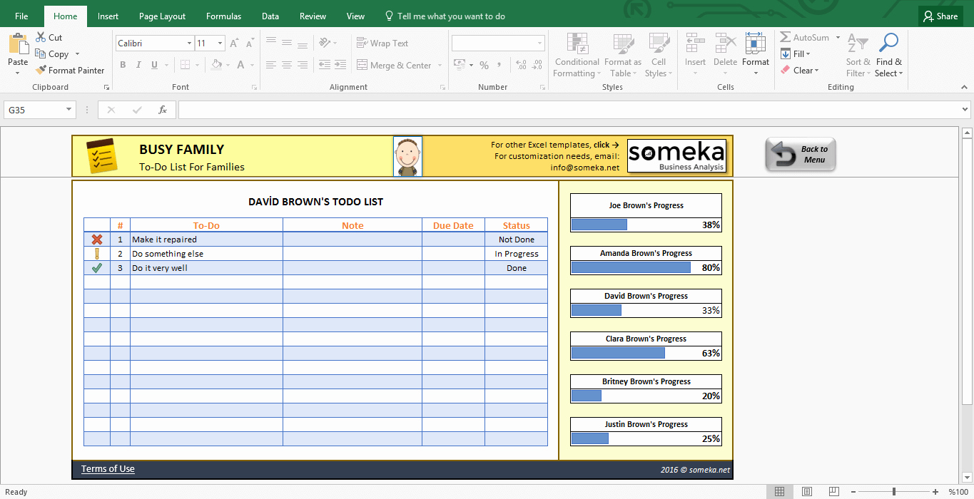 To Do List Excel Template Inspirational Family to Do List Printable Checklist Template In Excel