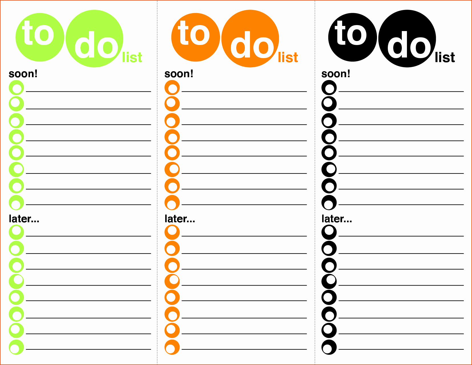 To Do List Excel Template New 8 Excel to Do List Template Bookletemplate