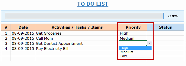 To Do List Excel Templates Elegant Excel to Do List Template [free Download]