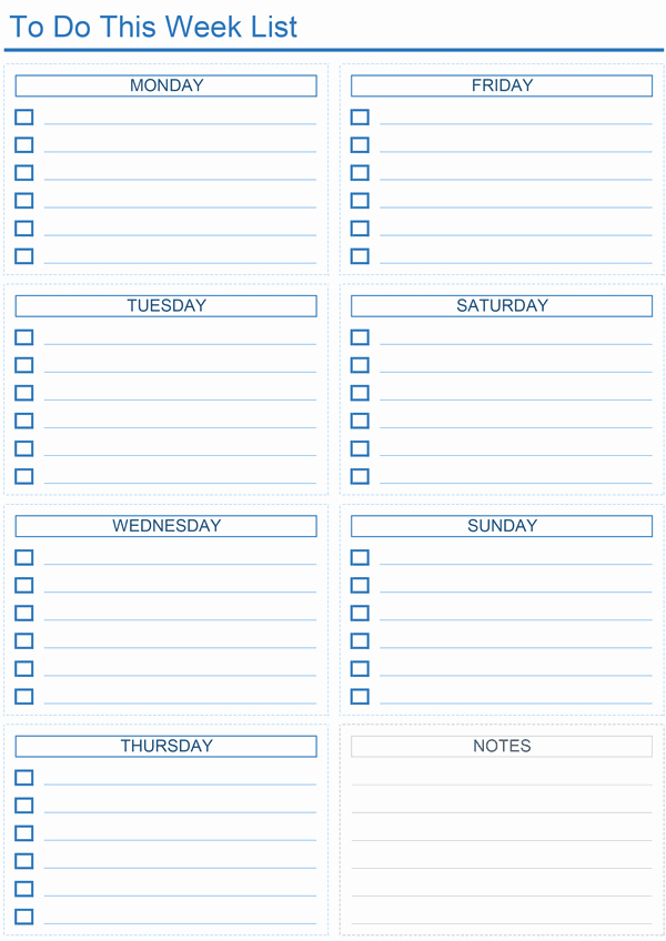 To Do List Excel Templates Inspirational Daily to Do List Templates for Excel