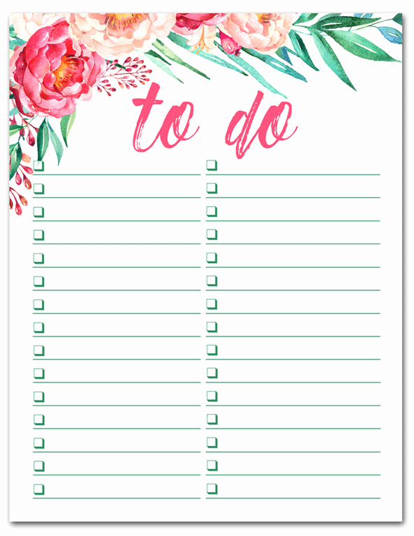 To Do List Free Download Inspirational Best Of the Weekend Sweet Pea