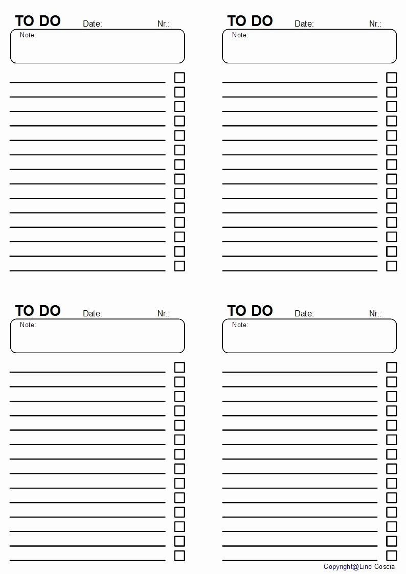 To Do List Free Download New Things to Do List Free S Free Printable Things to