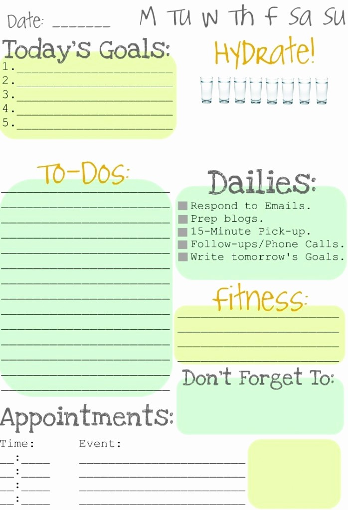 To Do List organizer Template Awesome Making to Do Lists Fun Clean and Scentsible