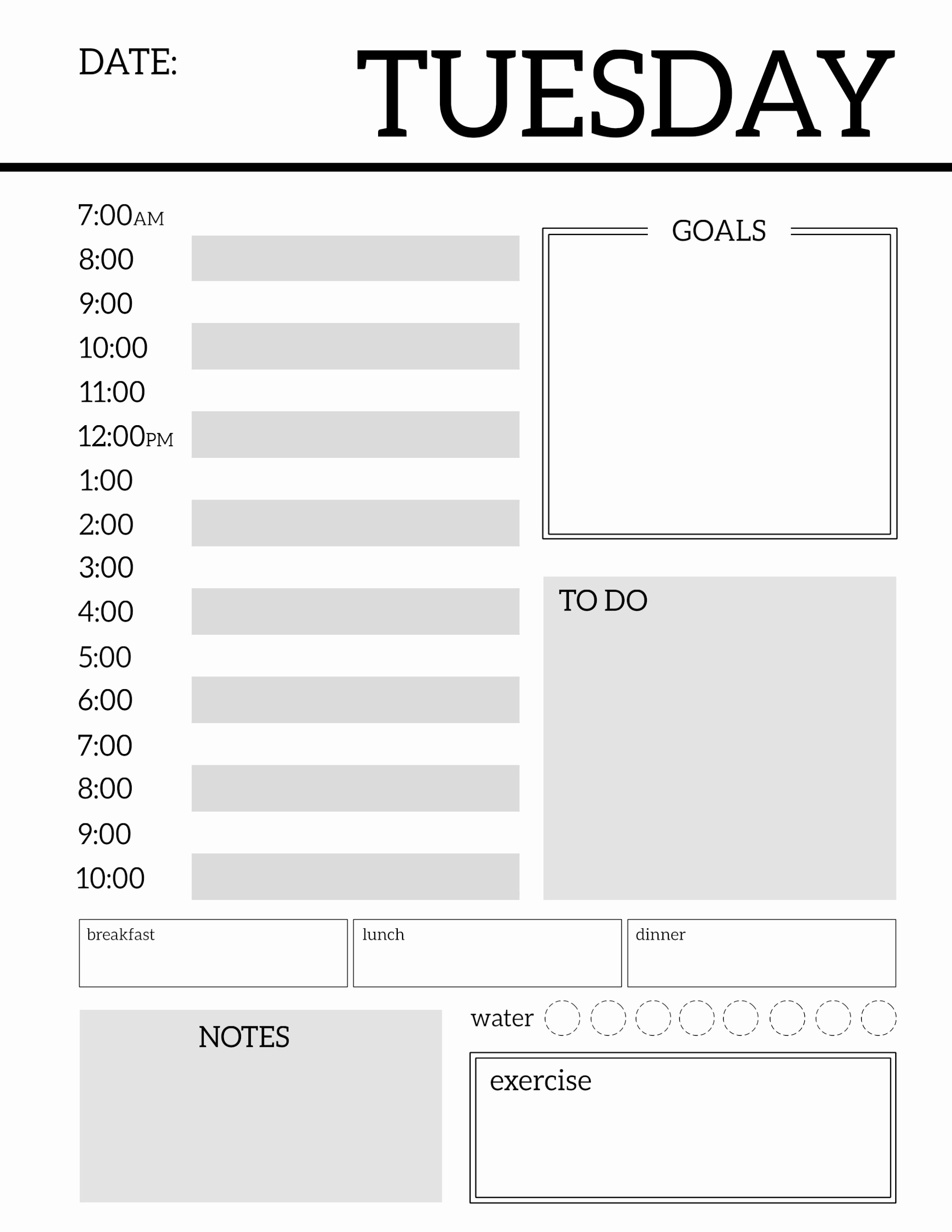 To Do List organizer Template Beautiful Daily Planner Printable Template Sheets Paper Trail Design