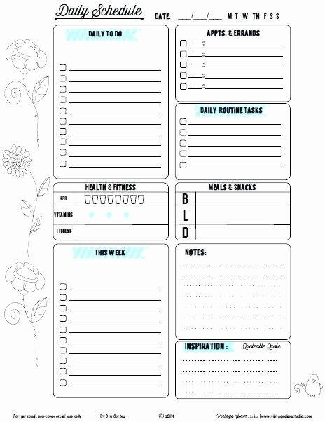 To Do List organizer Template New Weekly and Daily Planner Template organizer Coupon List