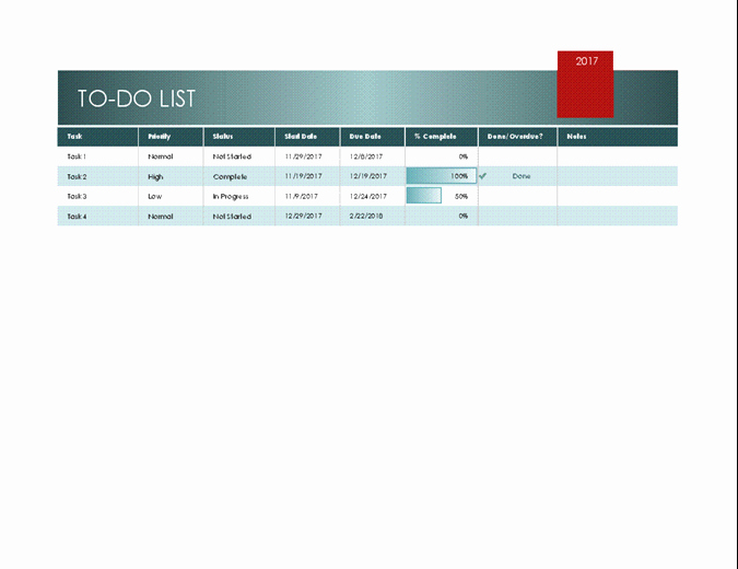 To Do List Templates Excel Best Of Simple to Do List