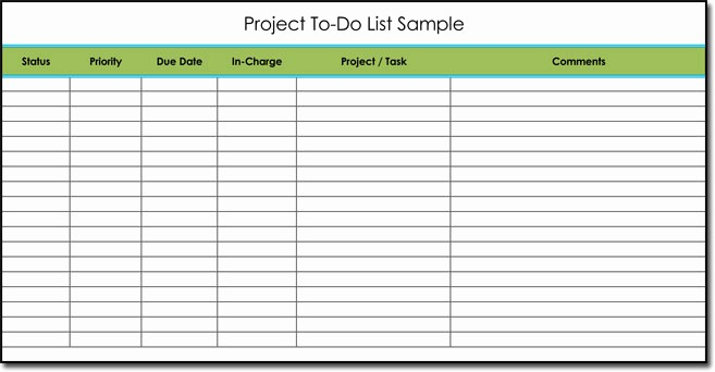 To Do List Templates Excel Inspirational Free to Do List Templates with Guide to Make Your Own