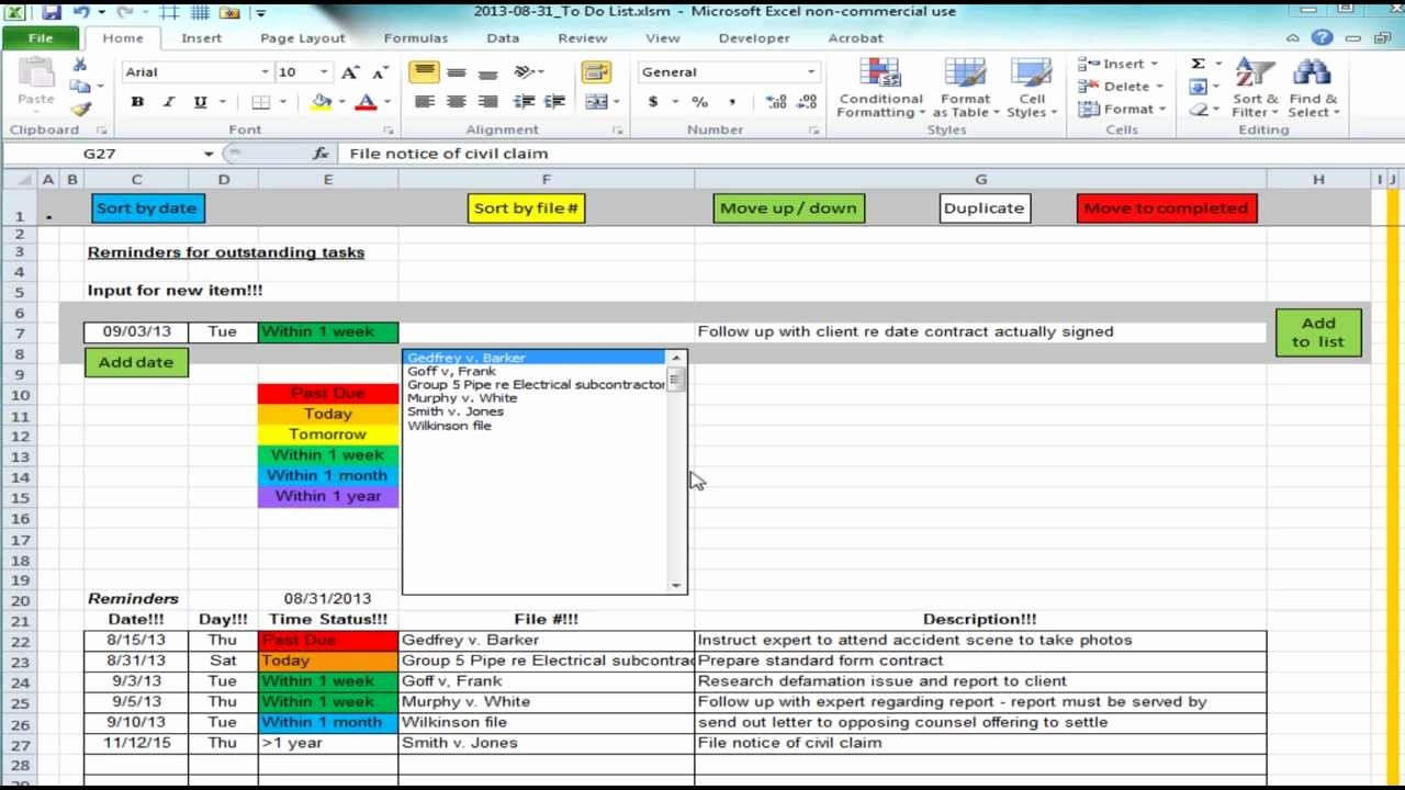 To Do List Templates Excel Unique Excel to Do List with Subtasks Template Templates Station