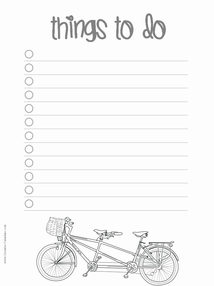 To Do List Templates Printable Best Of to Do List Template