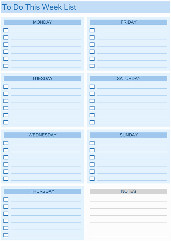 To Do List Weekly Template Luxury Daily to Do List Templates for Excel
